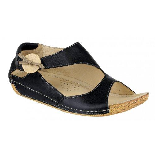 Riva Cartier - Sandales en cuir - Femme Fauve