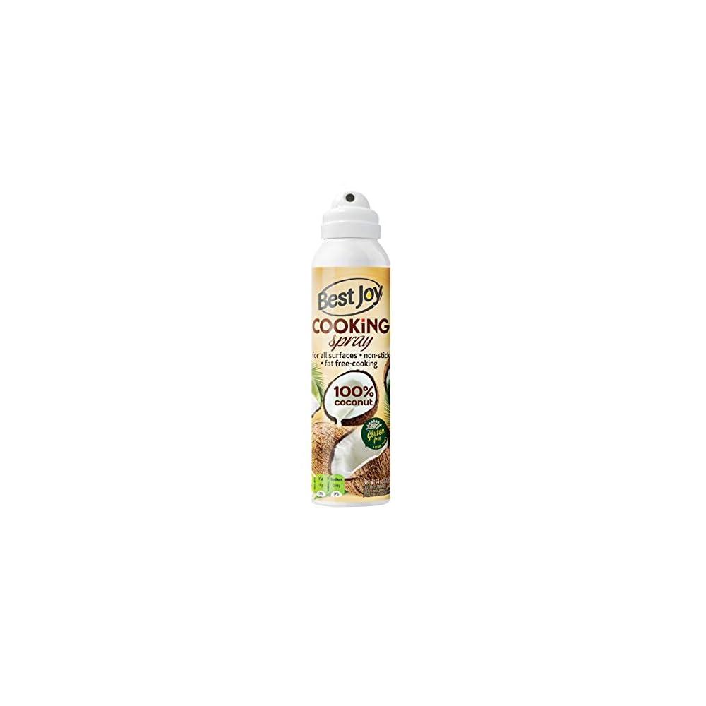 Best Joy Kokosl Im Spray 1er Pack 100 Ml Coconut Oil Cooking Spray Geschmaksneutral Ohne Geruch Gvo Gluten Frei Vegan L Zum Spritzen Bis Zu 1500 Portionen