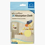 LOCK & LOCK HWEL004Y Microfiber Absorption Cloth, Yellow, 40 x 4