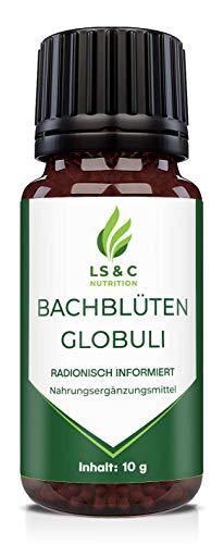 Bachblüten Globuli | radionisch informiert | bei Nervosität und Unruhe | 10g