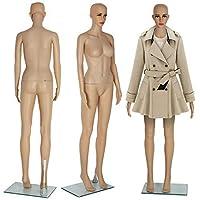 Coldshine 68.8in Mannequin Female Full Body Shop Window Display Dummy Retail Dressmaker Lady