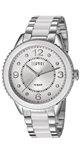 Esprit Damen-Armbanduhr marin lucent Analog Quarz verschiedene Materialien ES106192002