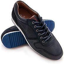Zerimar Zapato de Piel Deportivo para Hombre Zapato Cómodo para Hombre