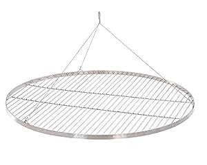 xxl 80 cm grillrost edelstahl schwenkgrill grill rost neu garten. Black Bedroom Furniture Sets. Home Design Ideas