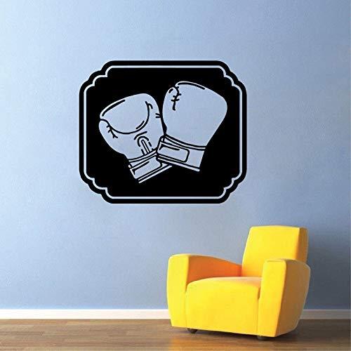 49,7 CM * 58 CM Kühlste Boxhandschuhe Gym Jungen Kinderzimmer Dekor PVC Wandaufkleber