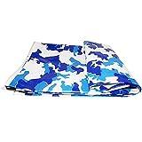 LJFPB Camo Thick Camping Tarp Shelter wasserdicht für Boot Pool mit Ösen (größe : 6x6m)