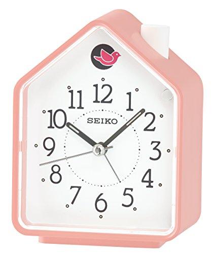 Seiko Unisex Wecker Analog Kunststoff rosa QHP002P