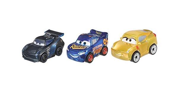 Film- & TV-Spielzeug Disney Cars 3 Rennsport 3er Pack