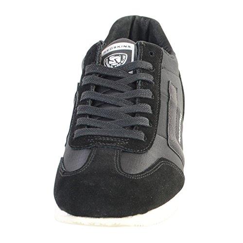 In Pelle Sneakers Redskins Nera Scarpe Triolo 8w4wtP