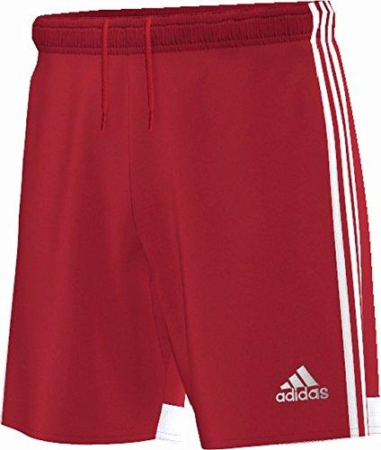 Adidas regi 14sho wb - pantaloncini da uomo, uomo, rosso/bianco, xxl