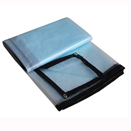 YAN FEI wasserdichte Schwere Plane Verdicken Sie durchsichtige regendichte Plastiktuch-Fenster-Balkon-Blumen-Isolierungs-Frostschutzmittel Anti-Altern Plastik 3x6M (größe : 2x5M)