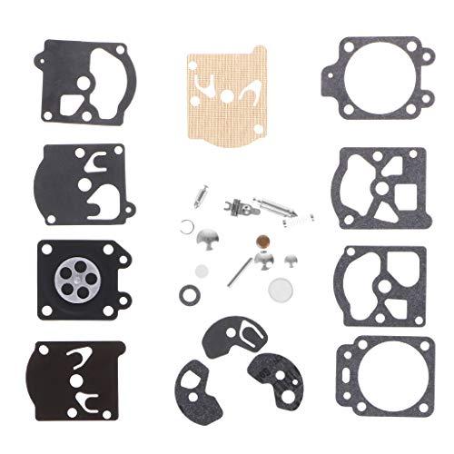 Qiman 1 Satz Vergaser Reparatursatz Carb Vergaser Membrandichtung Nadel Reparatursatz Für Walbro Serie K10-WAT -