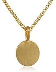 Pilgrim Damen-Kette mit Anhänger Vergoldet 1714420_1