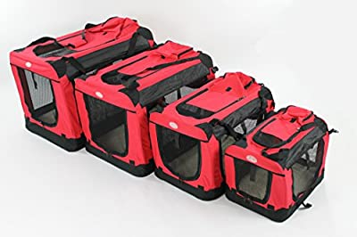 Easipet Fabric Carrier, Small, 49.5 x 34.6 x 35 cm, Red by Easipet