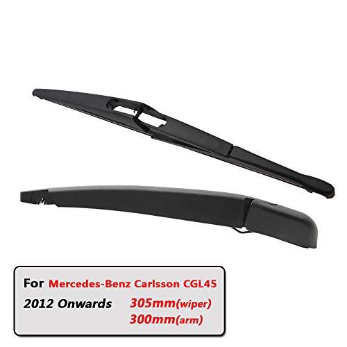 Preisvergleich Produktbild SLONGK Auto Heckwischerblätter Heckscheibenwischerarm,  Für Mercedes-Benz Carlsson Cgl45 Schrägheck (Ab 2012) 305 Mm Windschutzscheibenblatt