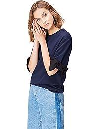 FIND Camiseta con Lazo para Mujer