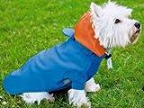 Hunde Regenjacke m. Kapuze