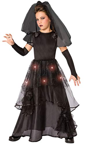 Zombie Braut Kostüm Für Kinder - Karneval-Klamotten Horror Braut Kostüm Kinder mit