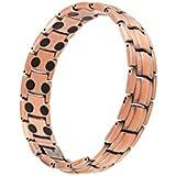 MJM - Magnet Kupfer Armbänder für Männer mit 3000 Gauss Magneten jeder Link