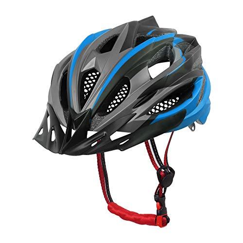 X-TIGER Casque de vélo VTT Ultra léger, Casque de vélo de Route, Cyclisme,Montagne, Unisex Hommes Femmes pour Adulte, avec visière Certifié CE