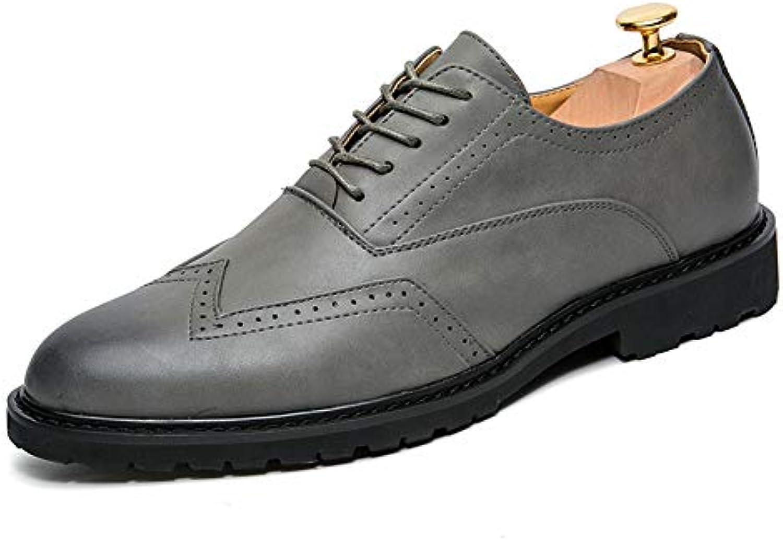 Xujw-scarpe, 2018 Scarpe Stringate Basse Moda Moda Moda casual da uomo PU in pelle anti-scivolo traspirante Scarpe Oxford... | Design Accattivante  | Gentiluomo/Signora Scarpa  025231