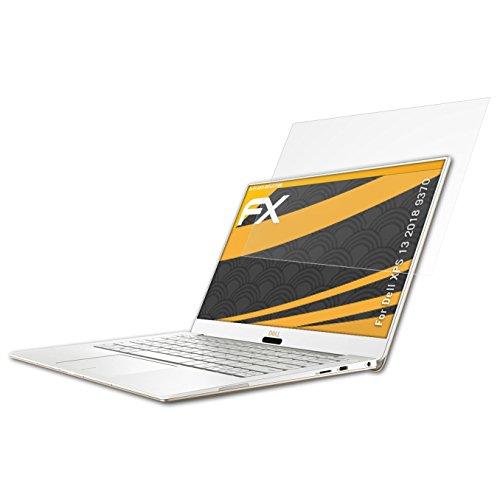 Dell XPS 13 2018 (9370) Displayschutzfolie - 2 x atFoliX FX-Antireflex blendfreie Folie Schutzfolie Displayschutzfolie Für Dell Xps 13