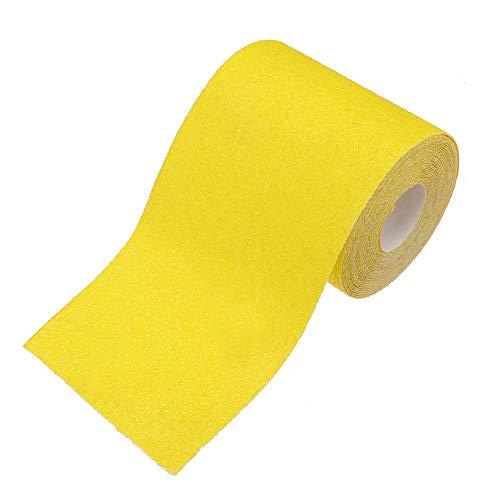 KingLan 40 60 80 120 180 Grit Schleifpapier Rolle 500X9.3Cm Aluminiumoxid Golden Gelb Longboard Dura Sandpapier Für Automobil- Und Holzbearbeitung -#180