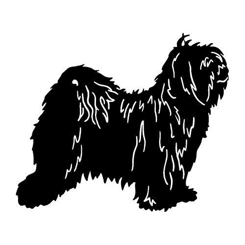 JXYY 15 * 12,6 CM Tibet Terrier Hund Auto Aufkleber Reflektierende Vinyl Aufkleber Auto Styling Lkw Dekoration -