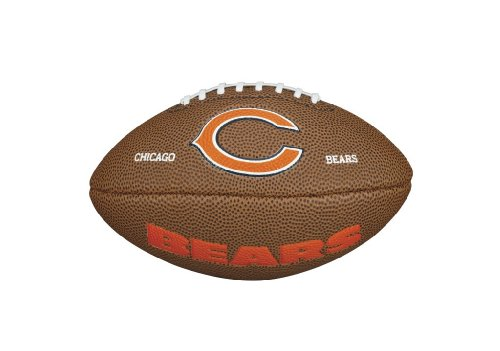 Wilson - Mini ballon de Football Américain Wilson NFL team logo Chicago Bears