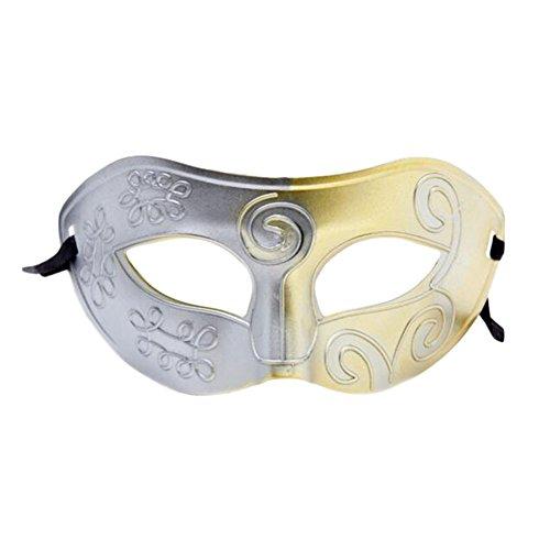 (Black Temptation PVC-Halloween-Maske Edel-Maskerade-Partei-halbe Gesichtsmaske)