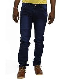 JUGEND Dark Blue Stretchable Jeans for Men