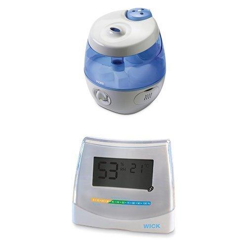 Preisvergleich Produktbild Wick WUL575E SweetDreams 2 in 1 - Ultraschall Luftbefeuchter mit Lichtprojektion