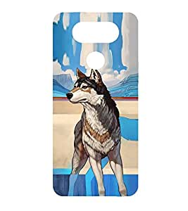 PrintVisa Brown Fox Mammal High Glossy Metal Designer Back Case Cover for LG G5 :: LG G5 Dual H860N :: LG G5 Speed H858 H850 VS987 H820 LS992 H830 US992