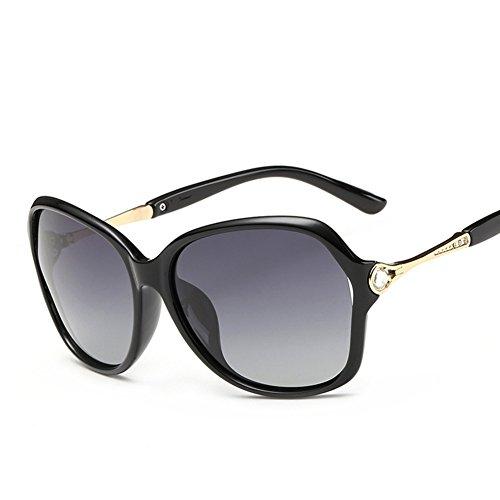 Cj occhiali da sole polarizzati per esterni da donna occhiali da sole classici con montatura classica specchietto guida, 1
