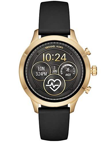 Michael Kors Damen-Smartwatch mit Silikon Armband MKT5053