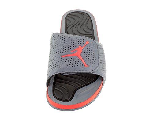 Nike Jordan Hydro 5, espadrilles de basket-ball homme Gris