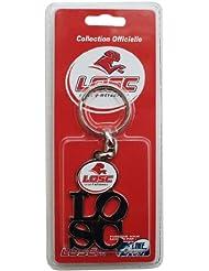 Porte clés officiel LOSC - Lille Olympique Métropole - Football Club Ligue 1 Supporter Dogues - Logo Maillot