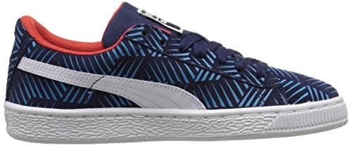 Puma Goefetti Wildleder Turnschuhe Peacoat/Blue Jewel/White