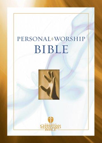 Pocket Personal Worship Bible-HCSB