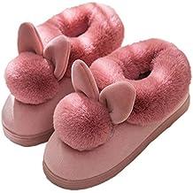 Zapatos hogar Acogedor al Aire Libre de Las Mujeres con Estilo de la Vaca Nuevo tamaño