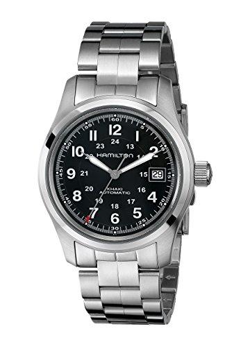 hamilton orologio da uomo analogico automatico con cinturino in acciaio inox - h70455133