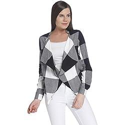 Vero Moda Women'S Casual Blazer (_5713440143606_Black_Large)