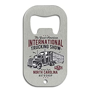LukeTee The Great American Trucking Show Nort Carolina Autoshop Flaschenöffner
