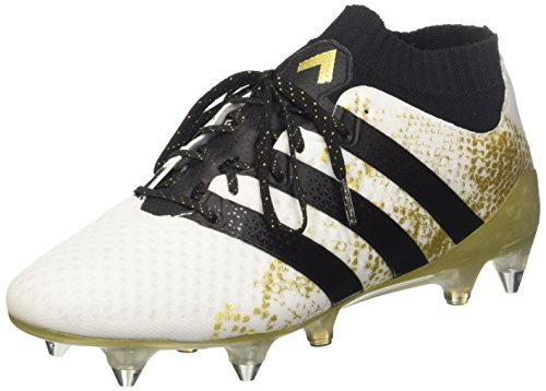 adidas Herren Ace 16.1 Primeknit SG Fußballschuhe,Weiß  (Ftwbla / Negbas / Dormet), 42 2/3 EU
