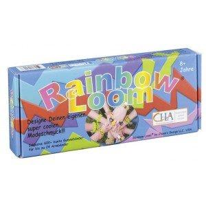 Original-RAINBOW-LOOM-Starter-Set-mit-METALLHAKEN-Webrahmen-600-Bnder