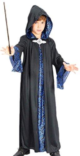 erdbeerloft - Jungen Wizard Robe Kostüm, 122, ()
