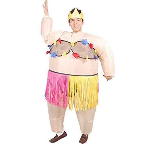 Alberne Kostüm - XIBAO aufblasbare Kostüme für Erwachsene, aufblasbares Kostüm, aufblasbares Prinzessinballettkostüm der Partei, lustiges Tanzpartykostüm des Festivals, Abendkleidkostüme