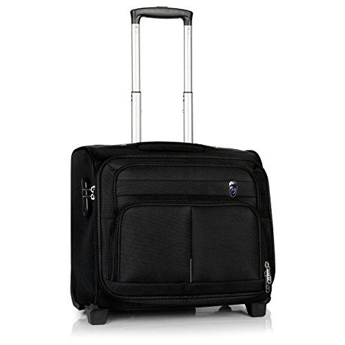 Novex Polyester 30 Ltr Black Laptop Roller Case
