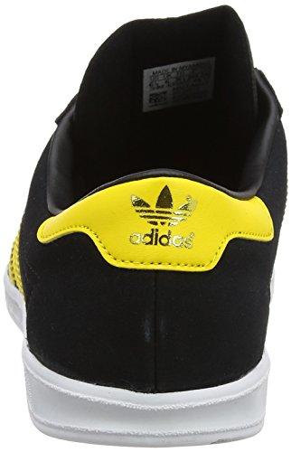 pretty nice 53734 baf19 ... Adidas Hamburg, Baskets Basses Athlétiques Pour Homme (core Black   Jaune Eqt  Chaussures ...