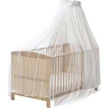 Playshoes 601003 Insect Protection, Mosquito Net for Baby Crib, white